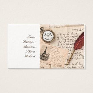 Vieille carte postale de papier vintage de timbre