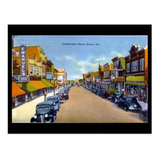 Vieille carte postale - Douvres, Delaware