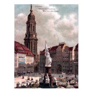Vieille carte postale - Dresde, Allemagne