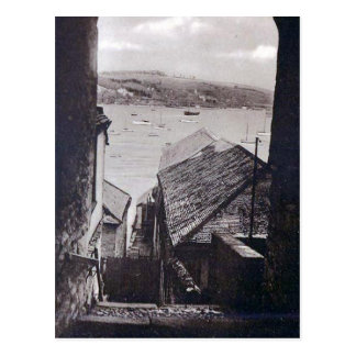 Vieille carte postale - Falmouth, les Cornouailles