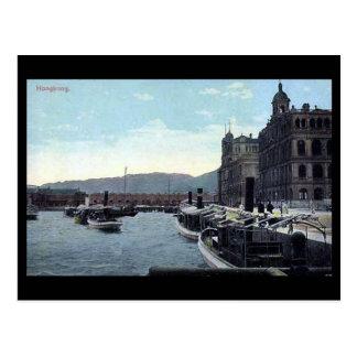 Vieille carte postale - Hong Kong en 1913