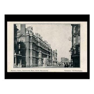 Vieille carte postale - hôtel de la Norfolk,