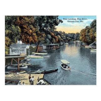 Vieille carte postale - Kansas City, Missouri,