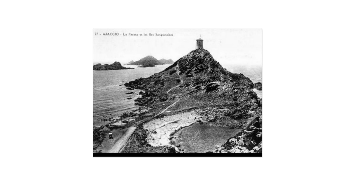 Vieille carte postale - La Parata, Corse | Zazzle.fr