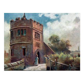 Vieille carte postale - le Roi Charles Tower,