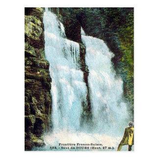 Vieille carte postale - le Saut-du-Doubs, le