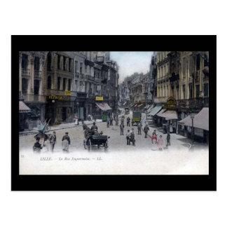 Vieille carte postale - Lille, France