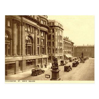 Vieille carte postale - Manchester