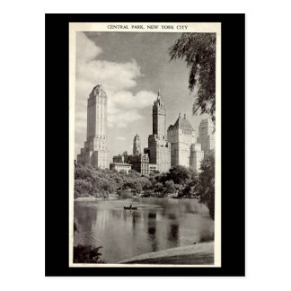 Vieille carte postale - New York City, Central Par