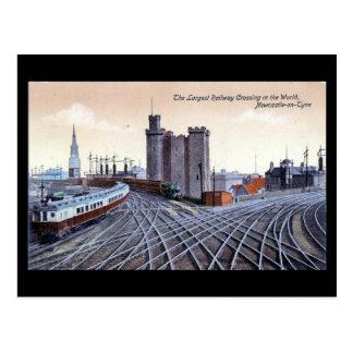 Vieille carte postale - Newcastle-sur-Tyne