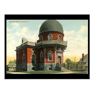 Vieille carte postale - observatoire de Ladd,