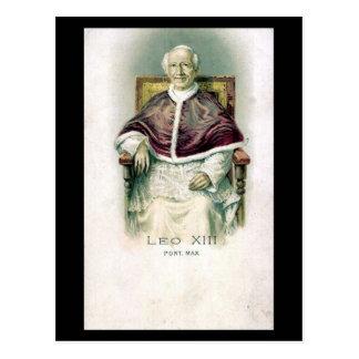 Vieille carte postale - pape Lion XIII