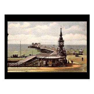 Vieille carte postale - pilier de Brighton