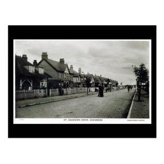 Vieille carte postale - Skegness, le Lincolnshire
