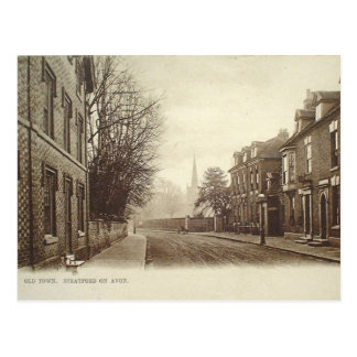 Vieille carte postale - Stratford-sur-Avon,