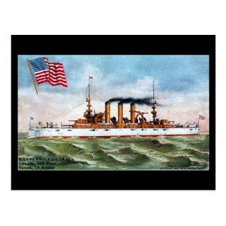 Vieille carte postale - USS la Géorgie