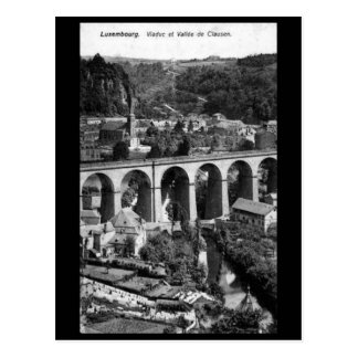 Vieille carte postale - Vallee de Clausen,