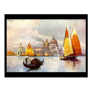 Vieille carte postale - Venise, Italie