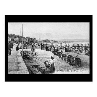 Vieille carte postale - Weymouth, Dorset