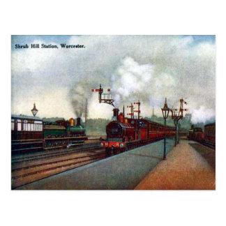 Vieille carte postale - Worcester