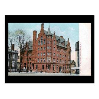 Vieille carte postale - YMCA, Providence RI