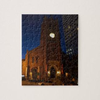 Vieille casse-tête de la cathédrale de Mary de Puzzles