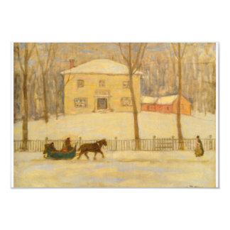 Vieille Chambre de Holtons à Montréal James Wilson Carton D'invitation 8,89 Cm X 12,70 Cm