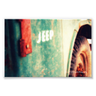 Vieille copie de jeep impression photo
