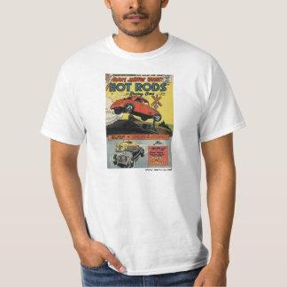 Vieille couverture de magazine de routes chaudes t-shirt