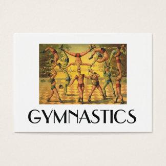 Vieille école de gymnastique SUPÉRIEURE Cartes De Visite