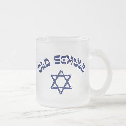 Vieille école de vieux de Schule judaïsme juif Mug En Verre Givré