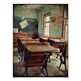 Vieille école, une école d'une pièce à l'intérieur photos