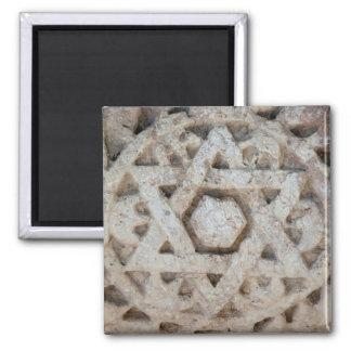 Vieille étoile de David découpant, Israël Aimant