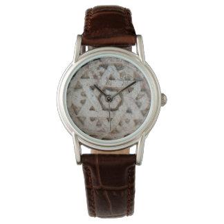 Vieille étoile de David découpant, Israël Montres Bracelet
