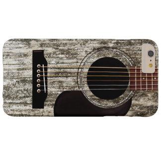 Vieille guitare acoustique en bois coque iPhone 6 plus barely there