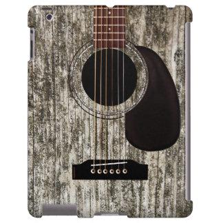 Vieille guitare acoustique en bois
