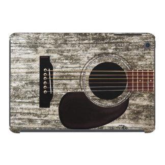 Vieille guitare acoustique en bois coques iPad mini retina
