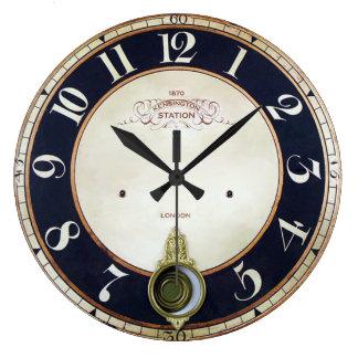 Vieille horloge vintage