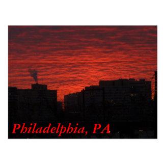 Vieille Philadelphie Carte Postale