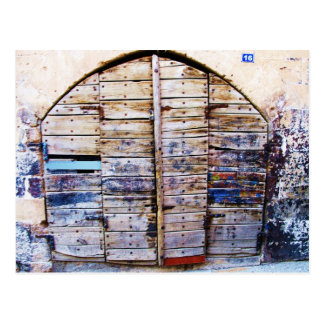 Cartes postales vintage de la gr ce personnalis es for Porte grecque
