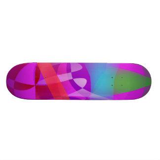 Vieille reine plateaux de skateboards customisés