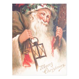 Vieille Saint-Nicolas avec la carte postale de cru