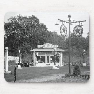 Vieille station service, 1925 tapis de souris