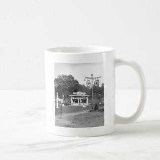 Vieille station service, 1925 mug à café
