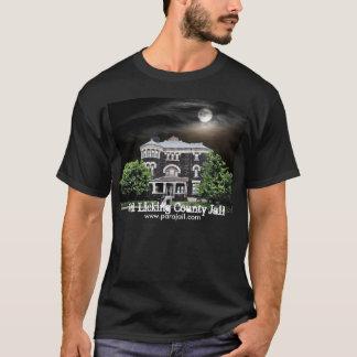 Vieille T-shirt hanté du comté de Licking par