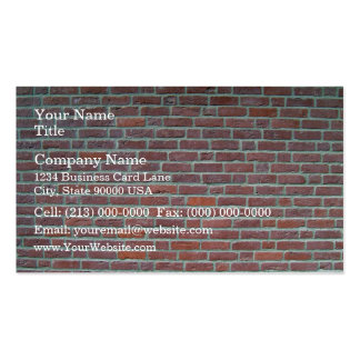 Vieille texture rouge de mur de briques carte de visite