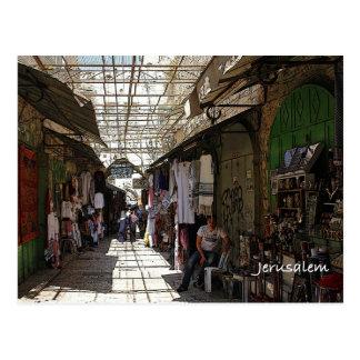 Vieille ville Jérusalem Carte Postale