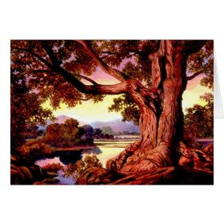 Vieilles cartes d'un arbre