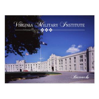 Vieilles casernes, Virginia Military Institute Carte Postale