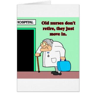 vieilles infirmières cartes